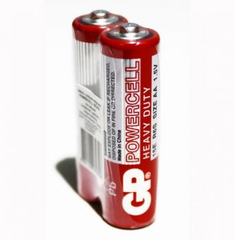 Бат GP R-6 (красная) коробка 1х2шт /2/40/1000/