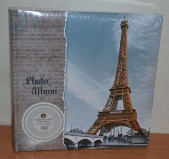 Фотоальбом на 200 фото 10х15 с местом для записей, L113 Париж