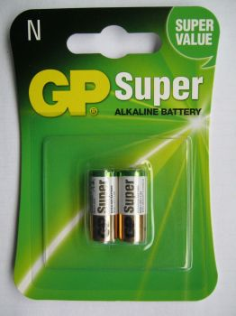 Бат GP Super Alkaline LR-1 (N) блистер 1х2шт