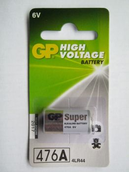 Батарейка GP Super Alkaline 4LR44 (476A) блистер 1х1шт