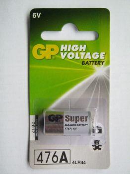 Бат GP Super Alkaline 4LR44 (476A) блистер 1х1шт