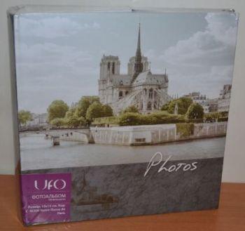 Фотоальбом на 300 фото 10х15 с местом для записей UFO Notre-Dame de Paris