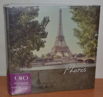 Фотоальбом на 300 фото 10х15 с местом для записей UFO Paris
