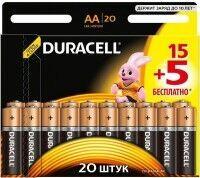 Бат Duracell LR-6 MN1500 блистер 1х20шт /20/200/