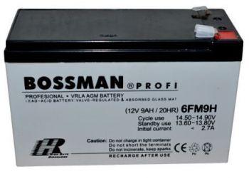 Акк Bossman Profi 12v 9Аh 6FM9H (151x65x94+6mm)  /1/