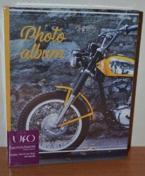 Фотоальбом на 200 фото 10х15 UFO PP-46200 мотоцикл