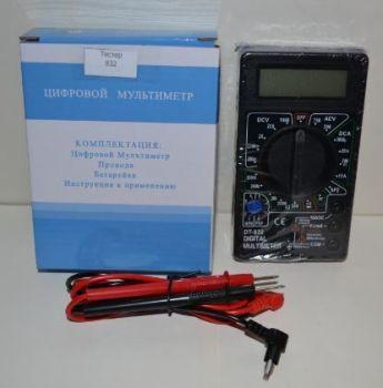 Тестер мультиметр вольтметр амперметр DT-832