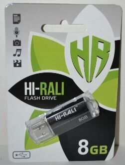 Флеш-драйв 8Gb Hi-Rali Corsair Black