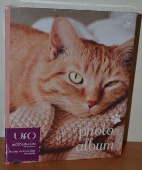 Фотоальбом на 200 фото 10х15 UFO PP-46200 кот