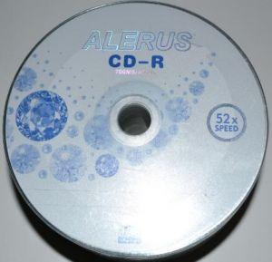 Медиа CD-R ALERUS 700Mb 52x Bulk 50 /1/50/600/