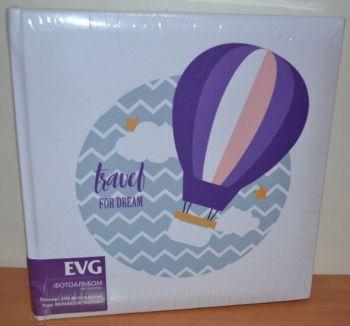 Фотоальбом на 200 фото 10х15 с местом для записей EVG Balloon