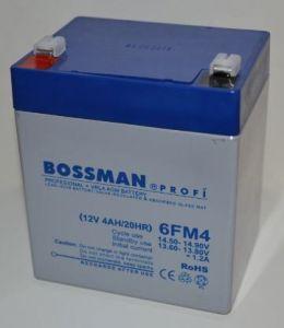 Аккумулятор Bossman Profi 12v 4Аh 6FM4 (90x70x101+5mm)