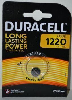 Батарейка Duracell DL1220 DSN Lithium 1x1шт /1/10шт.