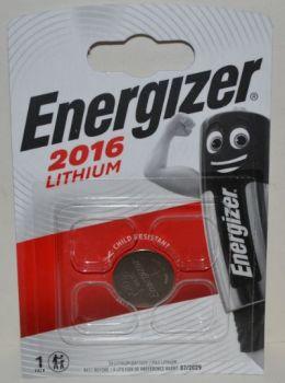 Батарейка Energizer CR-2016 Lithium 1х1шт /1/10/