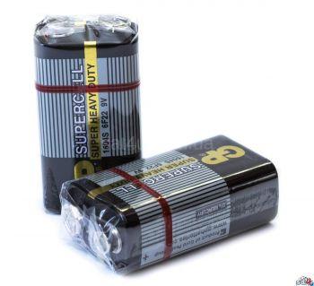 Батарейка GP 6F22 черная (крона) коробка 1х1шт /1/10/