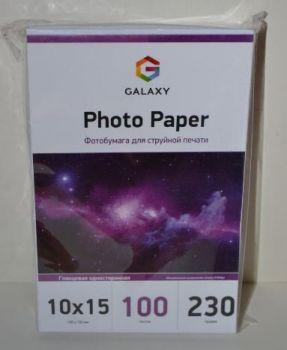 Фотобумага Galaxy 230g A6 100л глянец