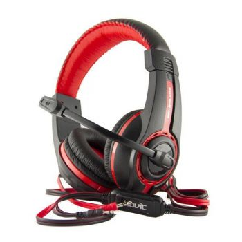 Наушники с микрофоном Havit HV-H2116d Gaming black-red