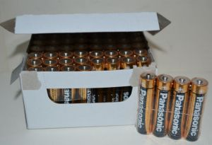 Батарейки PANASONIC Alkaline Power LR-03 коробка 1х4шт /4/48шт.