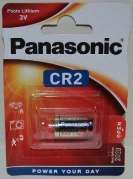 Батарейка PANASONIC CR-2 Lithium 1x1шт