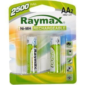 Акк RAYMAX HR-6 2500mAh Ni-MH блистер 1х2шт /2/24/