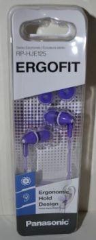 Наушники PANASONIC RP-HJE125E-V purple