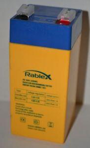 Аккумулятор Rablex 4v 4Аh 2FM4 (48x48x108mm)