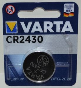 Батарейка VARTA CR-2430 Lithium 1х1шт /1/10шт.