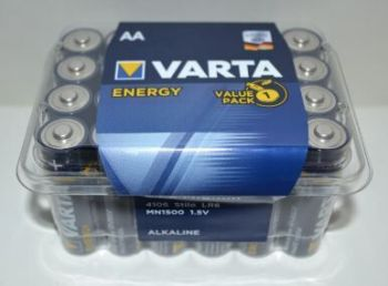 Батарейка VARTA Energy LR-6 box 24шт