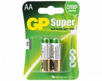 Бат GP Super Alkaline LR-6 блистер 1х2шт /2/20/160/