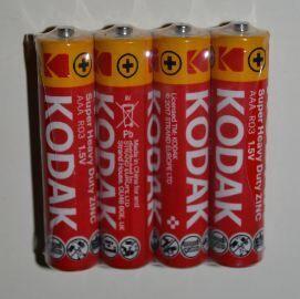 Батарейка KODAK EXTRA HEAVY DUTY R-03 коробка 1х4шт /4/60/