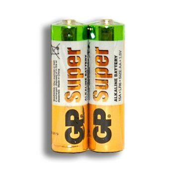 Бат GP Super Alkaline LR-6 коробка 1х2шт /2/40/1000/