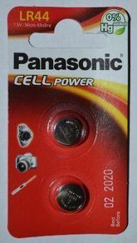 Час PANASONIC LR44 (AG13) блистер 1х2шт /2/24/