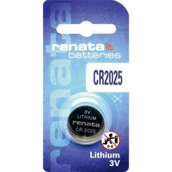Бат Renata СR-2025 Lithium 1х1шт /1/10/100/