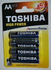 Бат Toshiba Alkaline LR-6 блистер 1х4шт /4/48/