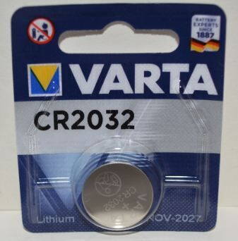 Батарейка VARTA CR-2032 Lithium 1х1шт /1/10/