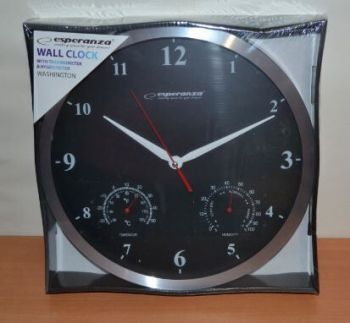 Часы настенные Esperanza WASHINGTON ЕН-C008K