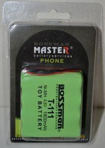 Аккумулятор Bossman T111 (4*AA) 1800mAh 4,8V Ni-Mh c проводом