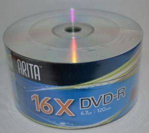 Диск DVD-R Arita 4,7Gb 16x Bulk 50 /1/50/600/
