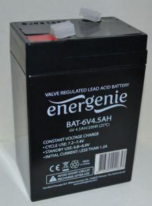 Аккумулятор EnerGenie 6v 4,5Аh (70x48x101+5mm)