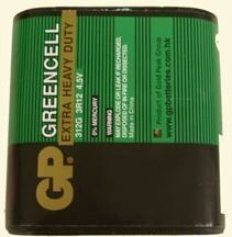 Бат GP 3R12 (зеленая) коробка 1х1шт /1/20/