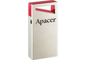 Флеш-драйв 16Gb APACER AH112 Red /1/