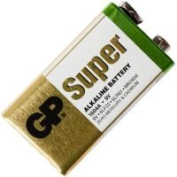 Батарейка GP Super Alkaline 6LR61 (крона) коробка 1х1шт /1/10/