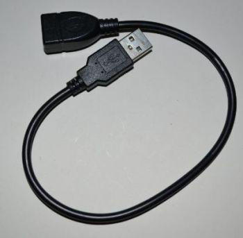 Кабель USB удлинитель 0,3м