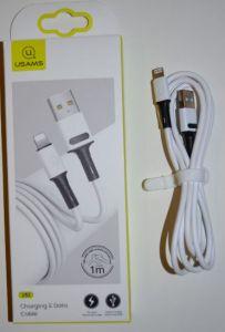 Кабель для iPhone 5 USAMS US-SJ434 (U52) 2A 1м white