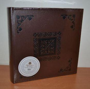 Фотоальбом на 200 фото 10х15 с местом для записей L095 (коричневый)