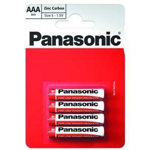 Батарейки PANASONIC Special R-03 блистер 1х4шт /4/48/