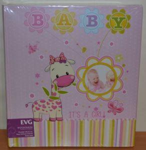 Фотоальбом самоклейка EVG 30листов 29x32см Baby pink