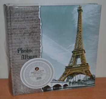 Фотоальбом на 100 фото 10х15 с местом для записей, L113-2 париж