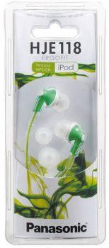 Наушники PANASONIC RP-HJE118GU-G green