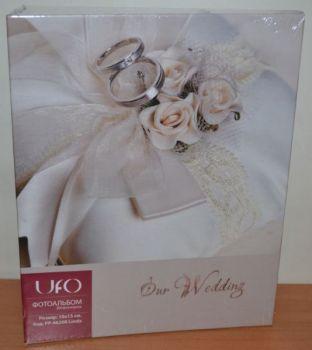 Свадебный фотоальбом на 200 фото 10х15  UFO Linda